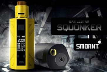 INFO BATCH : Battlestar Squonker 200W (Smoant)