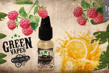 REVUE / TEST: Raspberry Fizz (Full Vaping Range) by Green Liquides