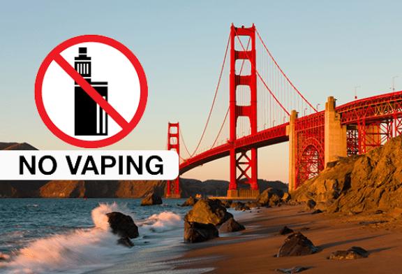 СОЕДИНЕННЫЕ ШТАТЫ: Сан-Франциско планирует запретить продажу электронных сигарет в ожидании решений FDA.