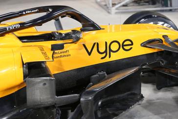 """ECONOMIA: il logo """"Vype"""" apparirà sulla F1 McLaren al Gran Premio del Bahrain"""