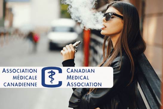 CANADA: The Canadian Medical Association wants to toughen the rules of the vape!