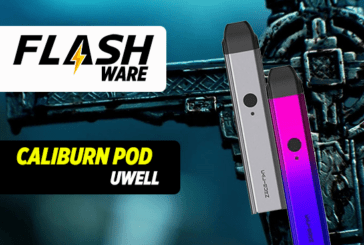 FLASHWARE : Caliburn Pod 520mAh (Uwell)