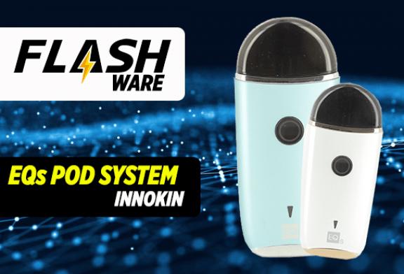 FLASHWARE : EQs Pod System 800mAh (Innokin)