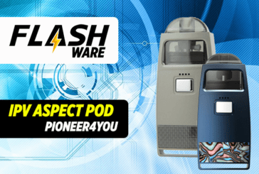 FLASHWARE : IPV Aspect Pod 750mAh (Pioneer4you)