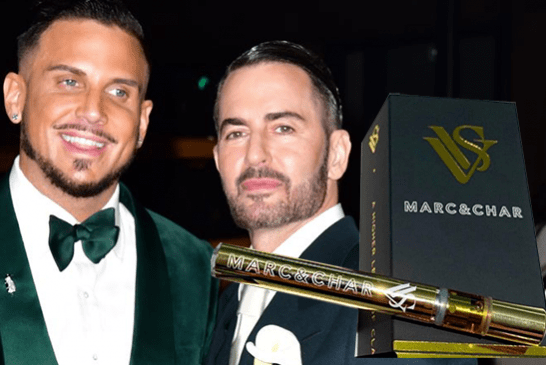 "PEOPLE: ""Cannabis"" personalized e-cigarettes for Marc Jacobs' wedding"
