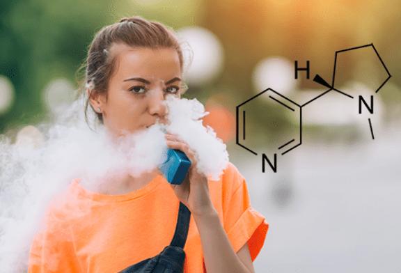 ESTUDIO: Los jóvenes no necesariamente se dan cuenta de la presencia de nicotina en los cigarrillos electrónicos.
