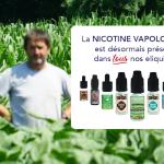 ПРЕСС-РЕЛИЗ: VDLV расширяет использование никотина-ваполога на все электронные жидкости.