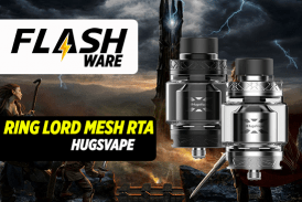 FLASHWARE: Δαχτυλίδι Lord Mesh RTA (Hugsvape)