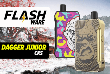 FLASHWARE : Dagger Junior 1000mAh (CKS)