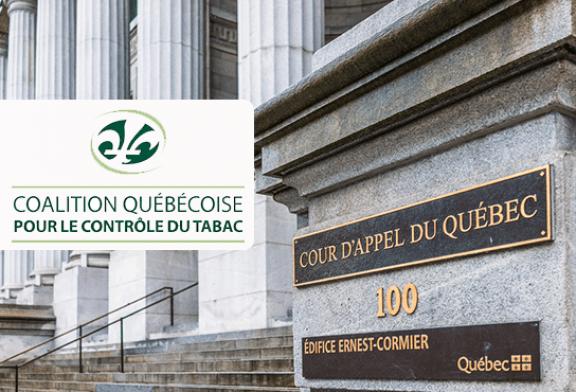 CANADA : Vers un appel du jugement qui invalide certains articles de loi sur l'e-cigarette