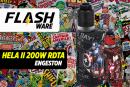 FLASHWARE : Hela II 200W RDTA  (Engeston)