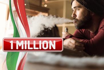 איטליה: 1 מיליון משתמשים של סיגריות דואר בארץ ו 20% של מעשנים בדרך למעבר!