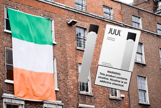 IRLAND: Die E-Zigarette Juul hat gerade ihre Markteinführung im Land angekündigt!