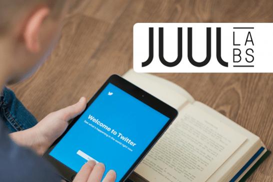 ÉTATS-UNIS : La plupart des «followers» de Juul Labs sur Twitter n'ont pas l'âge légal pour vaper !