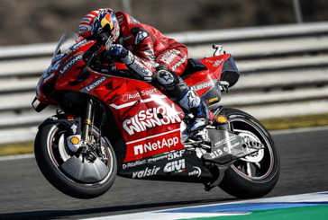 "ECONOMY: No ""Mission Winnow"" logo on Ducati bikes at Le Mans GP."