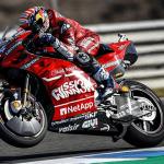 ÉCONOMIE : Pas de logo « Mission Winnow » sur les motos Ducati au GP du Mans.