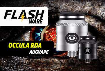 FLASHWARE : Occula RDA (Augvape / Twisted Messes)