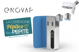 "E-CIGARETTE: Η εκκίνηση Enovap λαμβάνει ένα τρόπαιο ""PEPITES PEPITE 2019"" στο VivaTech!"