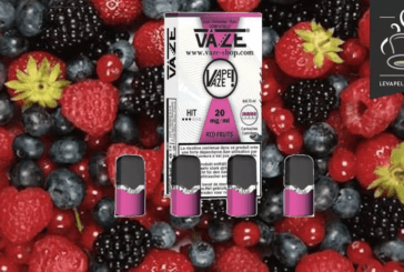 REVUE / TEST : Red Fruits par VAZE