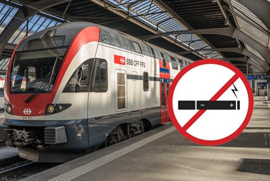 SUISSE : Interdiction de fumer et vapoter dans les gares CFF dès le 1er juin 2019 !