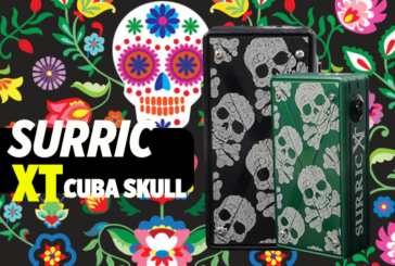 INFO BATCH : Surric XT Cuba Skull (Surric Vapes)
