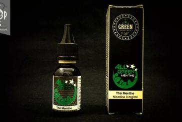 REVUE / TEST: Tè alla menta (All Green Range) - di Green Liquides