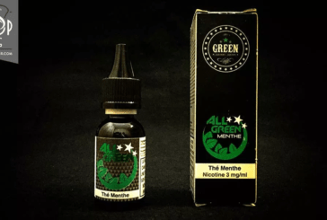 REVUE / TEST : Thé Menthe (Gamme All Green) – par Green Liquides