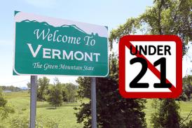 ΗΝΩΜΕΝΕΣ ΠΟΛΙΤΕΙΕΣ: Το Βερμόντ γίνεται το κράτος 14th για να περάσει τη νόμιμη ηλικία στα 21 χρόνια για την αγορά ηλεκτρονικών τσιγάρων!