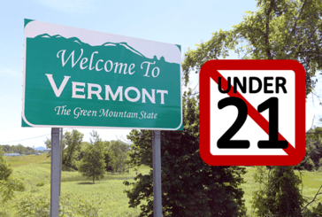 UNITED STATES: Vermont becomes the 14th state to pass the legal age at 21 years for the purchase of e-cigarettes!