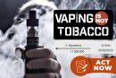 VAPING IS GEEN TABAK: 1 miljoen handtekeningen om de damp van tabaksproducten uit te sluiten!