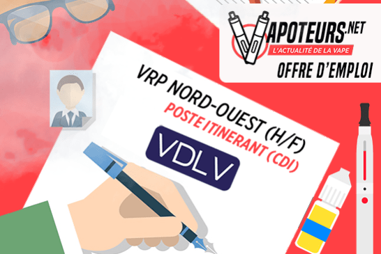 JOB OFFER: VRP Nord-Ouest (H / F) - VDLV - Traveling Post