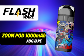 FLASHWARE: זום פוד 1000mAh (Augvape)