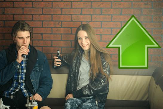 加拿大:年轻人增加74%的vaping率!