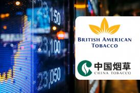 ЭКОНОМИКА: титул британского американского табака падает, China National Tobacco успешно выходит на IPO!