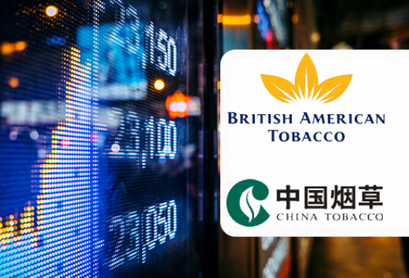 ÉCONOMIE : Le titre British American Tobacco chute, China National Tobacco réussit son entrée en Bourse !