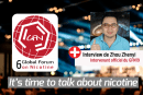 INTERVIEW : Rencontre avec Zhou Zhenyi, seul intervenant officiel français du 6éme Global Forum On Nicotine