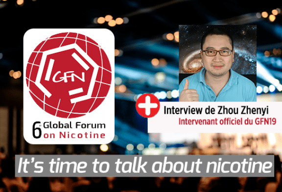 INTERVIEW: Meeting with Zhou Zhenyi, the only official French speaker of 6me Global Forum On Nicotine