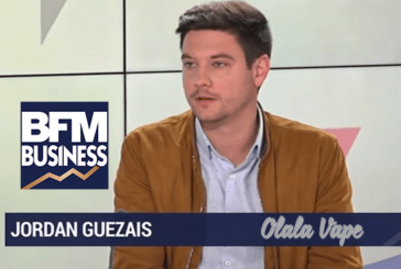 ECONOMY: Jordan Guezais (Olala Vape) defends the e-cigarette on BFM Business.