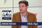 ЭКОНОМИКА: Джордан Гуэсайс (Олала Вейп) защищает электронную сигарету в BFM Business.
