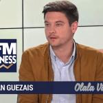 הכלכלה: ירדן Guezais (Olala Vape) מגן על סיגריה אלקטרונית על BFM עסקים.