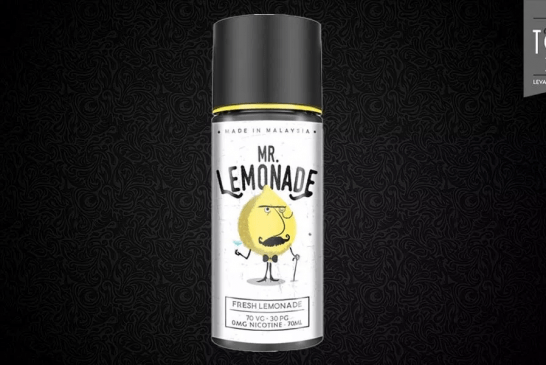 REVUE / TEST : Citron Limonade Mr Lemonade par My's Vaping