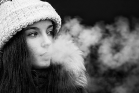 HEALTH: A sharp decline in smoking and an appeal of vaping for high school students