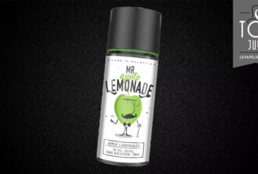 REVUE / TEST : Apple Lemonade Mr Lemonade par My's Vaping