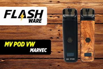 FLASHWARE : MV Pod VW 400mAh (Marvec)
