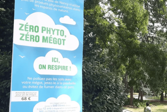 """GESETZ: Sechs Parks werden in Nancy """"tabakfreier Raum""""!"""