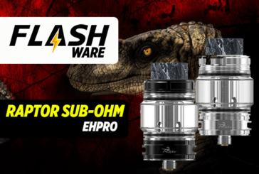 FLASHWARE : Raptor Sub-Ohm Tank (Ehpro)