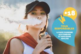 """הודעה לעיתונות: הקונפדרציה של טבקוניסטים ו""""צרפת Vapotage """"משיקים קמפיין"""" הוואפ הוא למבוגרים """""""