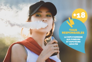 "PRESS RELEASE: The Confederation of tobacconists and ""France Vapotage"" launch a campaign ""The vape is for adults"""