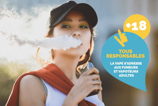 """ΔΕΛΤΙΟ ΤΥΠΟΥ: Η Συνομοσπονδία των καπνοβιομηχανιών και η """"Γαλλία Vapotage"""" ξεκινούν μια εκστρατεία """"Η βλάστηση είναι για ενήλικες"""""""