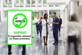 הממלכה המאוחדת: חנויות VAPE פתוחות באתרי בריאות NHS!